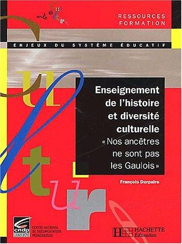 9782011707406: Enseignement de l'histoire et diversit� culturelle.