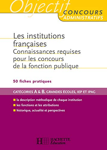 9782011709073: Les Institutions francaises (French Edition)