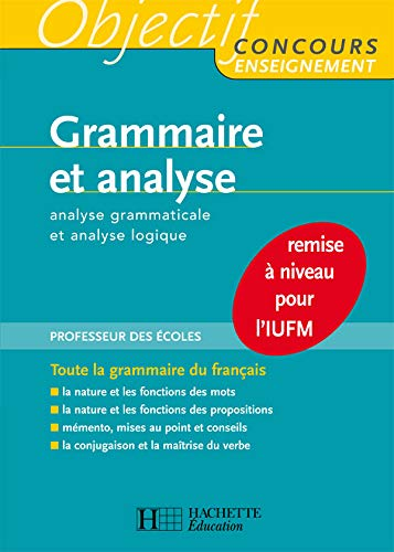 9782011709936: Grammaire et analyse (French Edition)