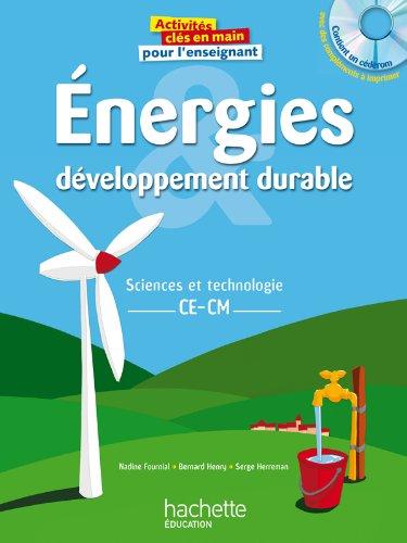 9782011711861: Energie et développement durable + CD - CE-CM