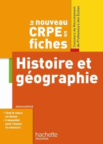 9782011712479: Histoire et géographie (French Edition)