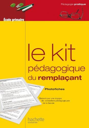 9782011712561: Le kit pedagogique du remplacant