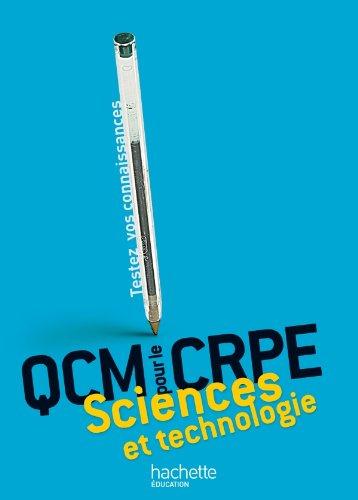 9782011713155: QCM pour le CRPE science et technologie (French Edition)
