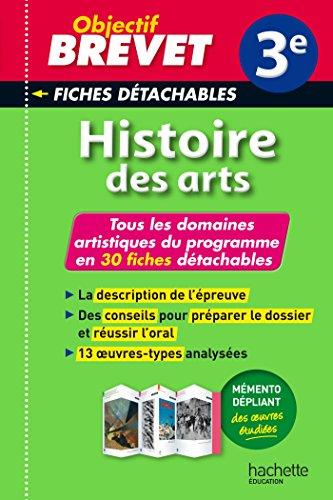 9782011714138: Objectif Brevet 3e - Fiches d�tachables Histoire de l'art