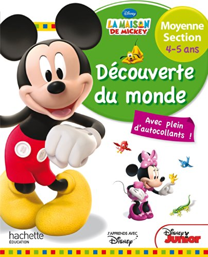 9782011714329: Mickey D�couverte du monde Moyenne Section