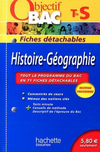 9782011714725: Histoire-G�ographie Tle S : Fiches d�tachables