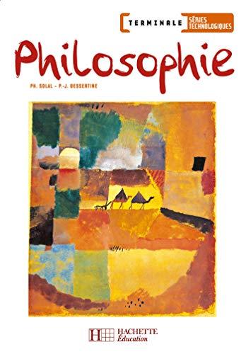9782011803146: Philosophie Tle Séries Technologiques (French Edition)