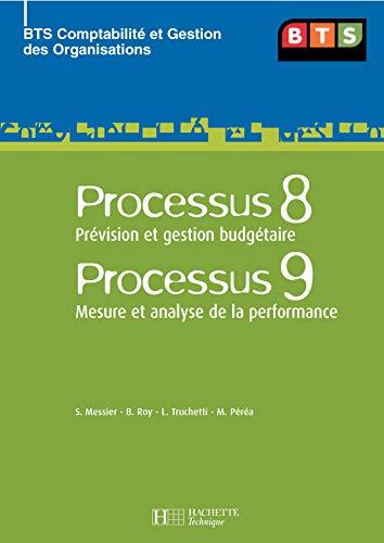 9782011803504: Processus 8 Pr�vision et gestion budg�taire Processus 9 Mesure et analyse de la performance BTS CGO