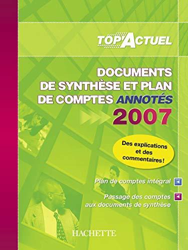 9782011806703: Documents de synthèse et plan de comptes annotés