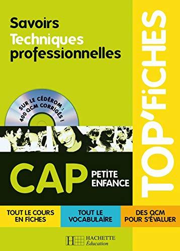 9782011806772: Savoirs et Techniques professionnelles CAP Petite enfance (1Cédérom)