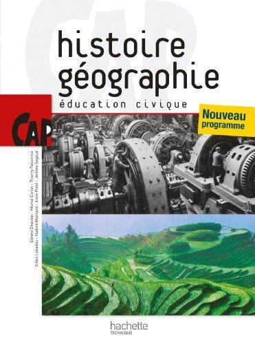 9782011807809: Histoire Géographie Education civique CAP (French Edition)