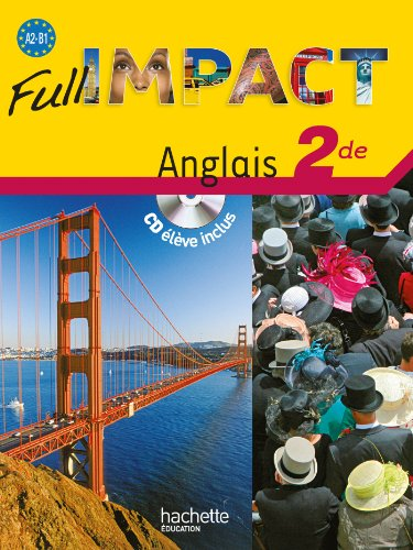 9782011808417: Full impact Anglais 2de (1CD audio) (French Edition)