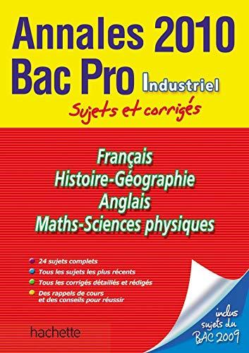 9782011808875: Bac Pro industriel : Annales 2010
