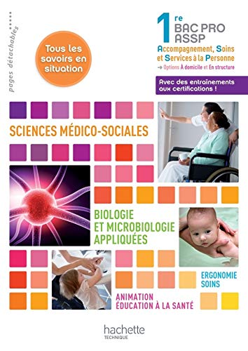 9782011814944: sms - biologie et microbiologie 1re bac pro assp - livre eleve - edition 2012