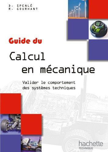 9782011815125: Guides industriels Guide du calcul en mécanique - Livre élève - Ed. 2012