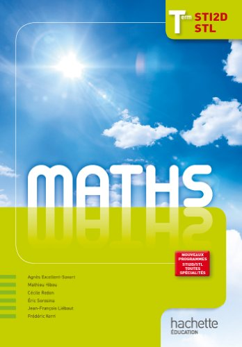 9782011815392: maths ; terminales STI2D/STL, grand format