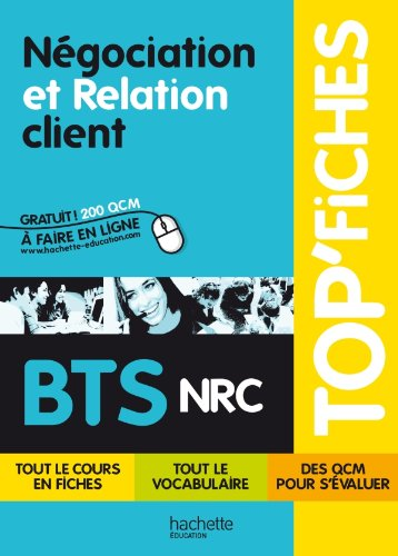 9782011816429: Top Fiches Bts Nrc