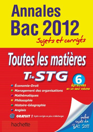 Objectif Bac 2012 - Annales corrigées -: Philippe Solal, Eric