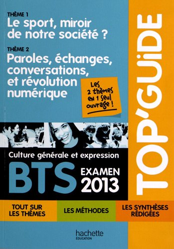 9782011821768: top guide programme mobile 2013 bts