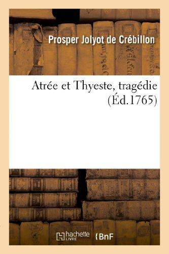 9782011855848: Atr�e et Thyeste, trag�die