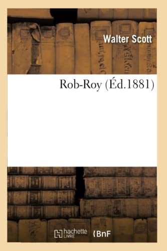 9782011885227: Rob-Roy (Éd.1881)