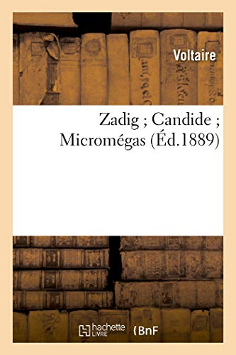 9782011888556: Zadig ; Candide ; Micromégas
