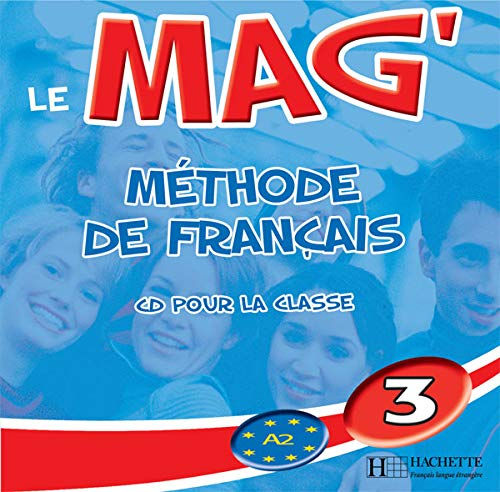 9782011957139: Le Mag': Niveau 3 CD Audio Classe (X2) (English and French Edition)
