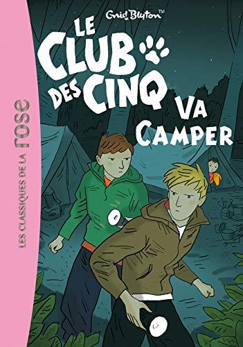 9782012013834: Le Club DES Cinq Va Camper (French Edition)