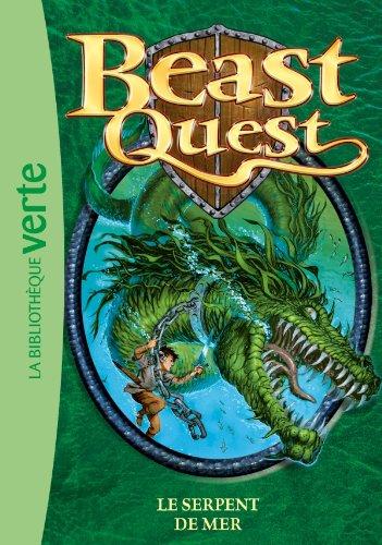 9782012015388: Beast Quest, Tome 2 : Le serpent de mer