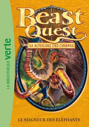 9782012026391: beast quest t.19 ; le seigneur des éléphants