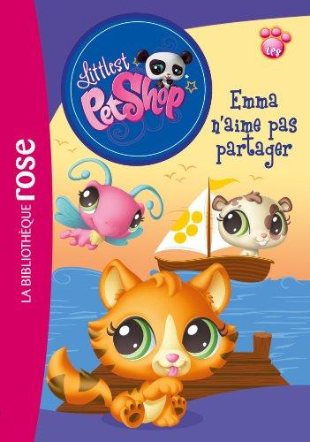 9782012030435: Littlest Petshop 10 - Emma n'aime pas partager