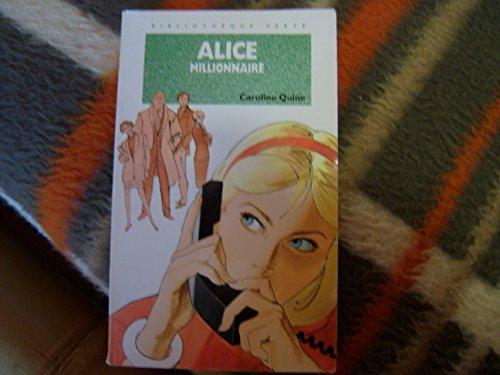 9782012093768: Alice millionnaire
