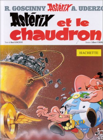 Astérix et le Chaudron: René Goscinny; Albert
