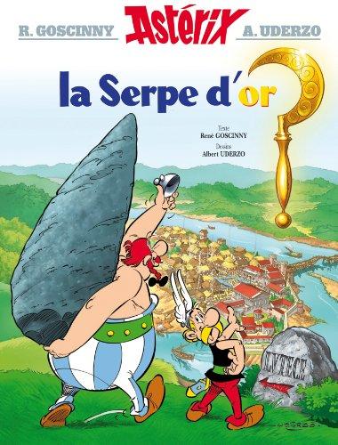 9782012101340: Asterix FR 02 La Serpe D'Or (Astérix)