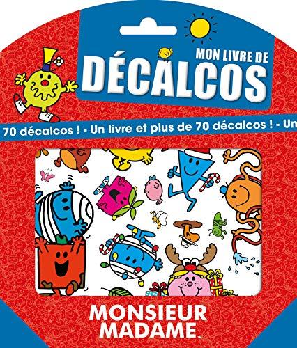 9782012102088: Monsieur Madame - Mon livre de décalcos