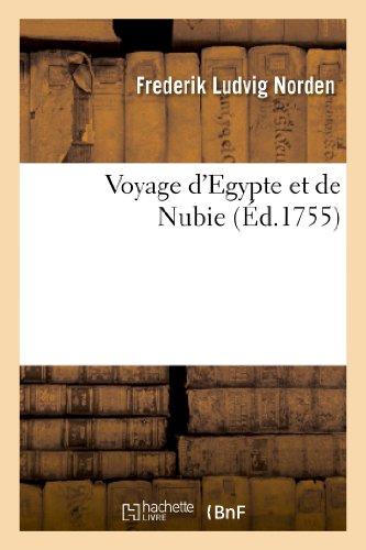 9782012158207: Voyage D'Egypte Et de Nubie (Histoire) (French Edition)