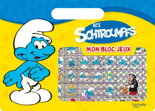 9782012201507: Oprationé Activités - Bloc à poignée Schtroumpfs (Les Schtroumpfs)