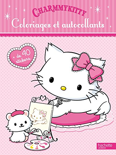 9782012201880: Coloriages et autocollants Charmmy Kitty