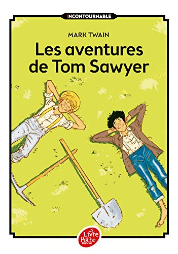 9782012202344: Les aventures de Tom Sawyer - Texte intégral (Livre de Poche Jeunesse)