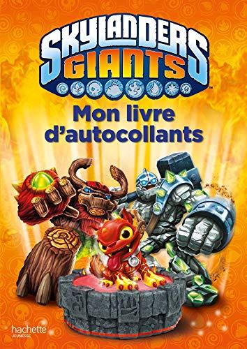9782012202450: Mon livre d'autocollants Skylanders Giants