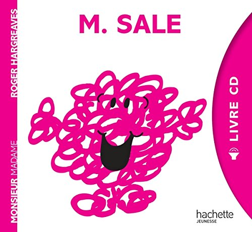 9782012206069: Collection Monsieur Madame (Mr Men & Little Miss) with CD: Monsieur Sale - Livre (French Edition)