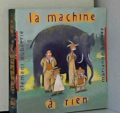 9782012235397: La machine à rien