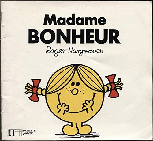 9782012235489: Bonhomme et les dames figurines : Madame Bonheur