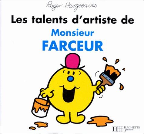 9782012237650: Bonhomme et dame TV : les talents d'artiste de monsieur farceur