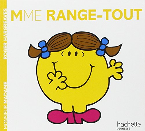 9782012248236: Madame Range-Tout (Monsieur Madame) (English and French Edition)