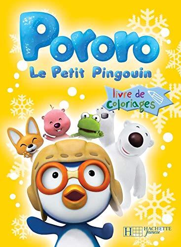 9782012253681: Pororo Le Petit Pingouin : Livre de coloriages