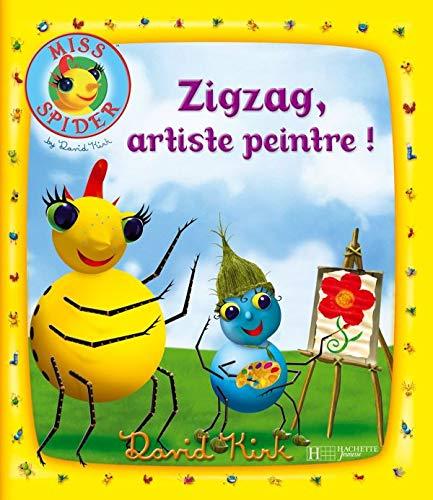 Zigzag, artiste peintre !: Kirk, David