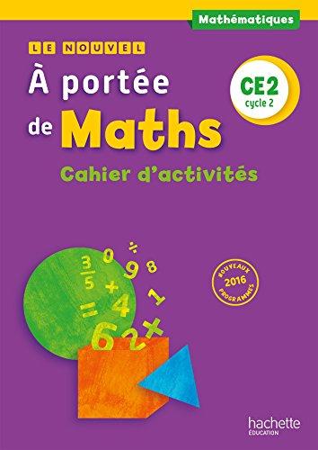 9782012259133: Le Nouvel A portée de maths CE2 - Cahier de géométrie - Ed. 2017