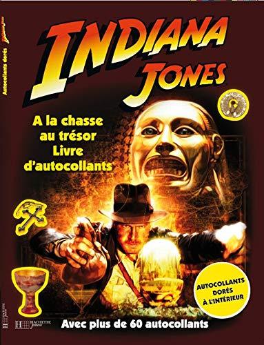 9782012260801: Indiana Jones : A la chasse au trésor : Livre d'autocollants