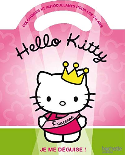9782012263925: Hello Kitty : je me déguise ! : Coloriages et autocollants